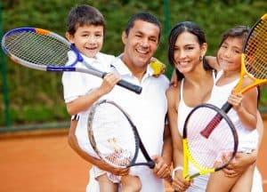 familia con seguro medico